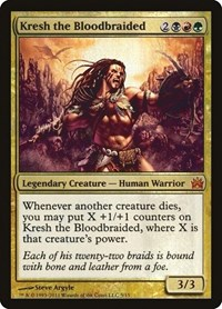 Kresh the Bloodbraided, Magic: The Gathering, From the Vault: Legends