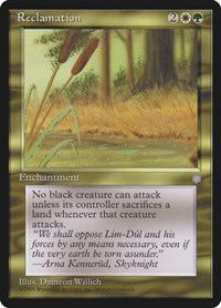Reclamation, Magic: The Gathering, Ice Age