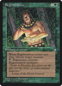 Regeneration, Magic: The Gathering, Ice Age