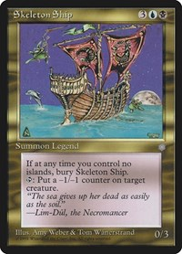Skeleton Ship, Magic: The Gathering, Ice Age