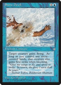 Snow Devil, Magic: The Gathering, Ice Age