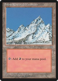 Snow-Covered Mountain, Magic: The Gathering, Ice Age