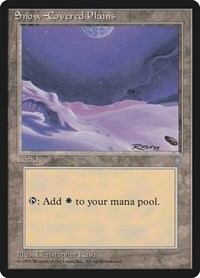 Snow-Covered Plains, Magic: The Gathering, Ice Age