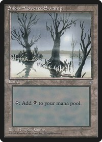 Snow-Covered Swamp, Magic: The Gathering, Ice Age