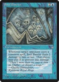 Soul Barrier, Magic: The Gathering, Ice Age