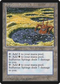Sulfurous Springs, Magic: The Gathering, Ice Age