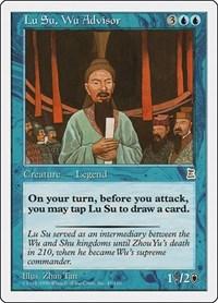 Lu Su, Wu Advisor, Magic: The Gathering, Portal Three Kingdoms