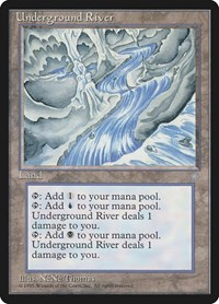 Underground River, Magic: The Gathering, Ice Age