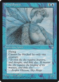 Wind Spirit, Magic: The Gathering, Ice Age