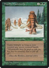 Woolly Mammoths, Magic: The Gathering, Ice Age