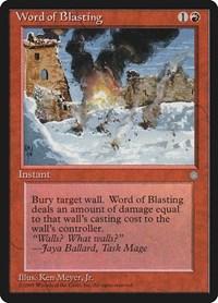 Word of Blasting, Magic, Ice Age