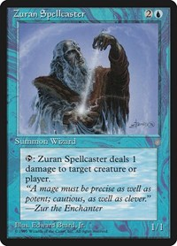 Zuran Spellcaster, Magic: The Gathering, Ice Age