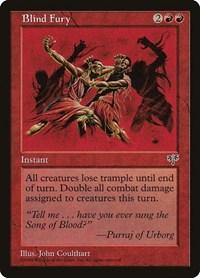 Blind Fury, Magic: The Gathering, Mirage