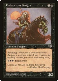 Cadaverous Knight, Magic: The Gathering, Mirage