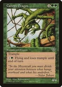 Canopy Dragon, Magic: The Gathering, Mirage