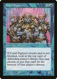 Coral Fighters, Magic, Mirage