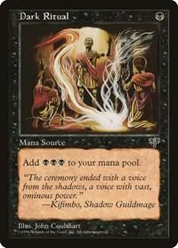 Dark Ritual, Magic: The Gathering, Mirage