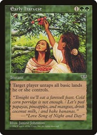 Early Harvest, Magic: The Gathering, Mirage