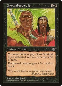 Grave Servitude, Magic: The Gathering, Mirage
