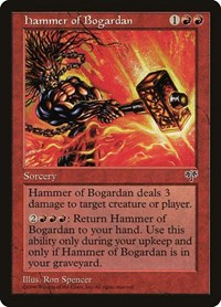 Hammer of Bogardan, Magic: The Gathering, Mirage