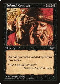 Infernal Contract, Magic: The Gathering, Mirage