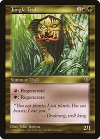 Jungle Troll, Magic: The Gathering, Mirage