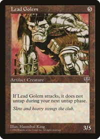 Lead Golem, Magic: The Gathering, Mirage