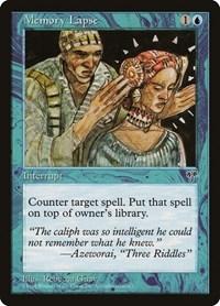 Memory Lapse, Magic: The Gathering, Mirage