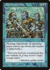 Merfolk Raiders, Magic: The Gathering, Mirage