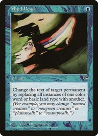Mind Bend, Magic: The Gathering, Mirage