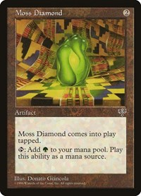 Moss Diamond, Magic, Mirage