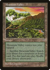 Mountain Valley, Magic, Mirage