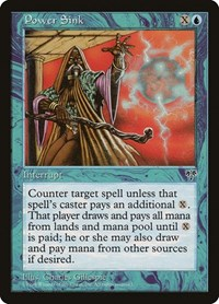 Power Sink, Magic: The Gathering, Mirage