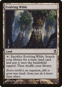 Evolving Wilds, Magic: The Gathering, Duel Decks: Ajani vs. Nicol Bolas