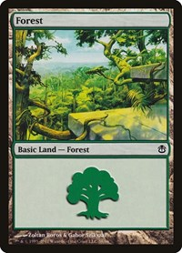 Forest (38), Magic: The Gathering, Duel Decks: Ajani vs. Nicol Bolas