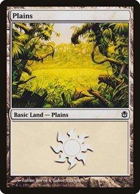 Plains (40), Magic: The Gathering, Duel Decks: Ajani vs. Nicol Bolas