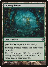 Sapseep Forest, Magic: The Gathering, Duel Decks: Ajani vs. Nicol Bolas