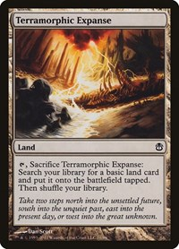 Terramorphic Expanse, Magic: The Gathering, Duel Decks: Ajani vs. Nicol Bolas