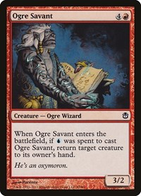 Ogre Savant, Magic: The Gathering, Duel Decks: Ajani vs. Nicol Bolas