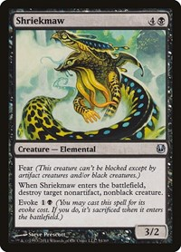 Shriekmaw, Magic: The Gathering, Duel Decks: Ajani vs. Nicol Bolas