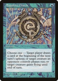 Sapphire Charm, Magic: The Gathering, Mirage