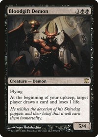Bloodgift Demon, Magic: The Gathering, Innistrad