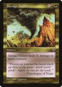 Savage Twister, Magic: The Gathering, Mirage