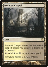 Isolated Chapel, Magic: The Gathering, Innistrad