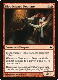 Bloodcrazed Neonate, Magic: The Gathering, Innistrad