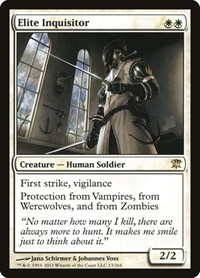 Elite Inquisitor, Magic: The Gathering, Innistrad