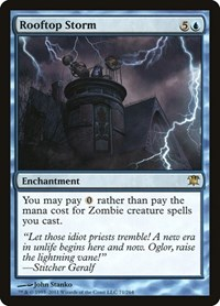 Rooftop Storm, Magic: The Gathering, Innistrad