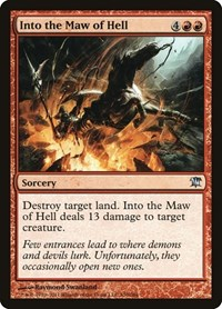 Into the Maw of Hell, Magic: The Gathering, Innistrad