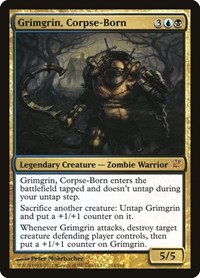 Grimgrin, Corpse-Born, Magic: The Gathering, Innistrad
