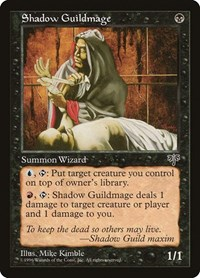 Shadow Guildmage, Magic: The Gathering, Mirage